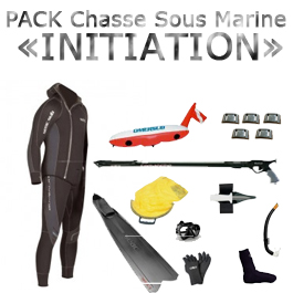 """Pack chasse sous marine """"initiation"""""""